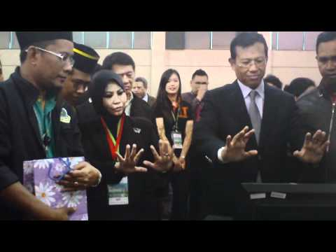 The Malaysian Minister of Youth & Sport on ASMMA spiritual energy gateway activation