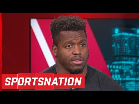 Panthers' Jonathan Stewart on Cam Newton: Of course we'll see MVP Cam again | SportsNation | ESPN