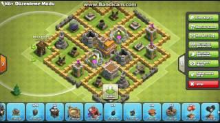 Clash of Clans#1 Town Hall 7. Village Edit l Belediyye Binasi 7 için Köy Düzenleme.