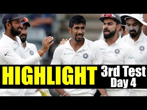 India Vs Australia - 3rd Test Day 4 Highlight | IND Vs AUS | Cricket Live Score