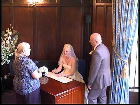 Wedding Ceremony Part 2 At The Registry Office In Dudley Uk