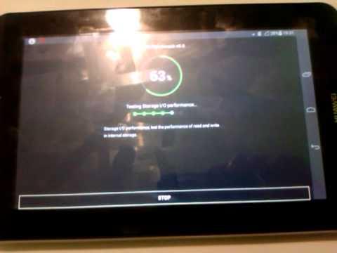 Huawei Mediapad 7 Youth 2 - Antutu Benchmark
