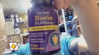 видео Natrol БАДы Biotin Plus
