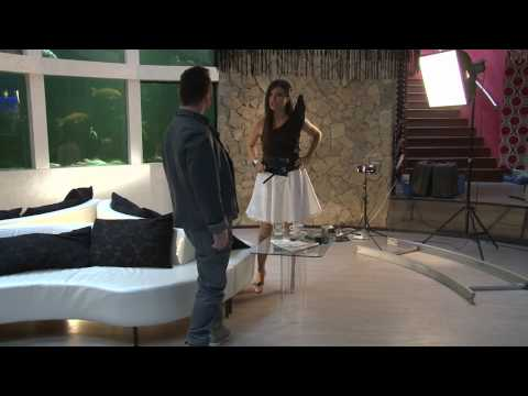 """Behind the Scenes of """"Playing with Fire"""" Paula & Ovi Eurovision 2010 (ENGLISH)"""