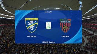 PES 2021 | Frosinone vs Cosenza - Italy Serie B | 20/11/2020
