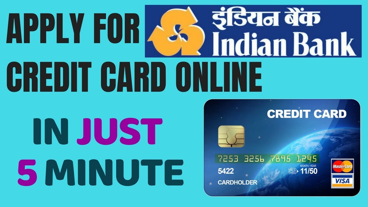 Indian Bank Credit Card Ly Online