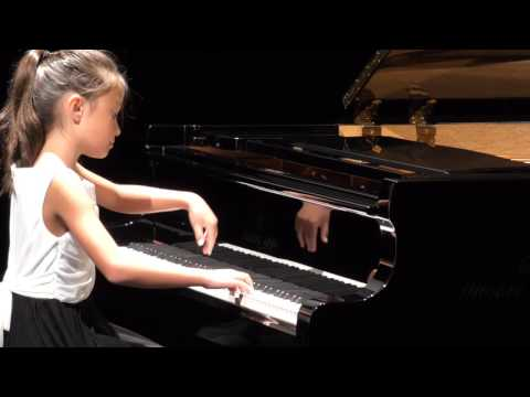 Jessica Flowers piano:  Clementi Op 36 No 5 Rondo at CKIPC