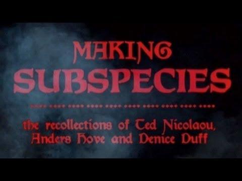 Making of Subspecies [EN]