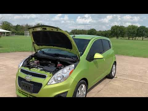2014 GREEN Chevrolet Spark LS Auto (KL8CB6S99EC) with an 1.2L L4 16V DOHC engine, Continuously Variable Transmission transmission, located at 17760 Hwy 62, Morris, OK, 74445, (918) 733-4887, 35.609104, -95.877060 - Photo #0