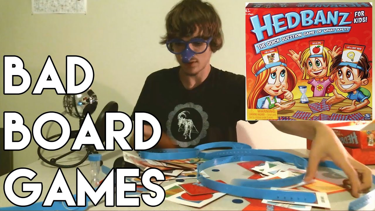 Bad Board Games | HEDBANZ