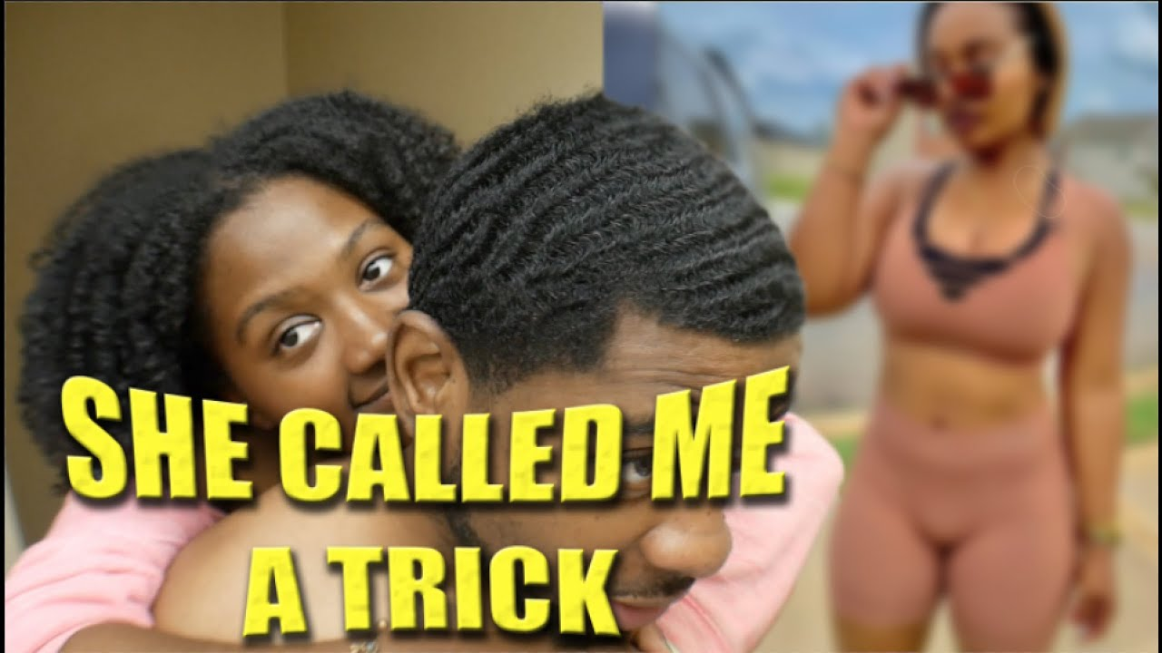 BRUSHING MY HAIR AND TALKING TO MY WIFE TURNS INTO AN ARGUMENT / SHE CALLED ME A TRICK