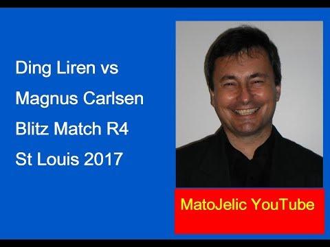 Champions Showdown: Carlsen-Ding Blitz 2017