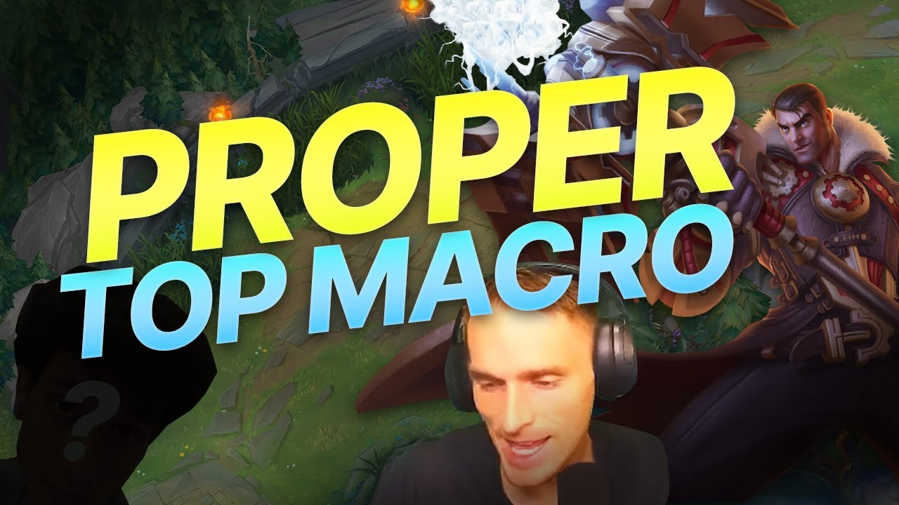 WHAT TOP LANE MACRO IS *SUPPOSED* TO LOOK LIKE - Insane game vs this streamer!