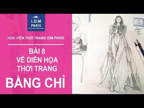 Vẽ thiết kế thời trang I Bài 8  - VẼ CHÌ - VẼ SÁNG TỐI BẰNG CHÌ