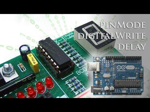 #3 El Software Arduino IDE. Instrucciones PinMode(), DigitalWrite() Y Delay()