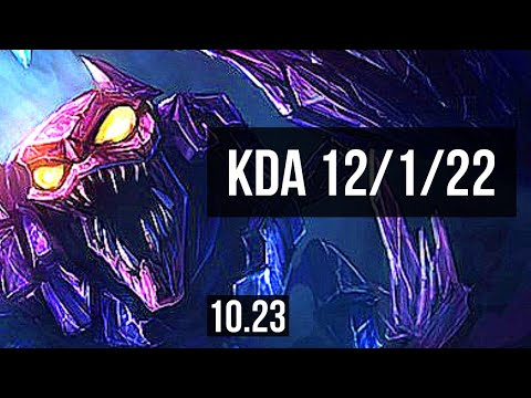 SKARNER vs GRAVES (JUNGLE) | 12/1/22, Rank 9 Skarner, Godlike | KR Master | v10.23