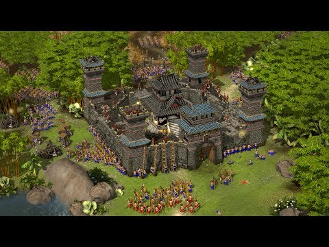 Stronghold Warlords - DEMO Gameplay