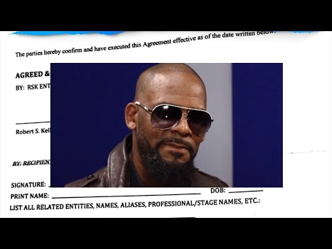 R Kelly's Non Disclosure Agreement RELEASED! What Does This Mean?!