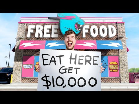 I Opened A Restaurant That Pays You To Eat At It - MrBeast