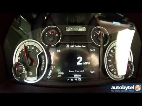 2014 RAM 1500 EcoDiesel 0-60 MPH Acceleration Test Video - 420 lb-ft Torque 3-Liter Turbodiesel V-6