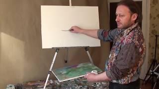 Техника рисования.обучение . мастер-классы. живопись