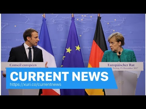 Current News - Angela Merkel says she will seek better ties with France to bring about the stabilit