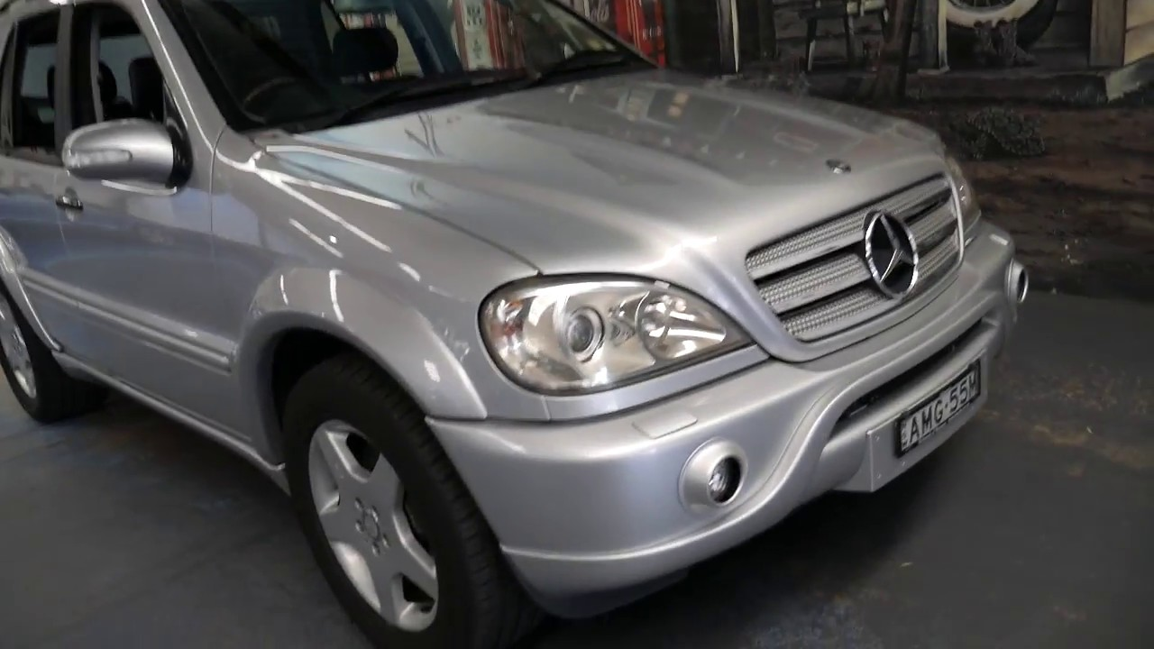 2001(my02) mercedes benz ml55 amg - youtube