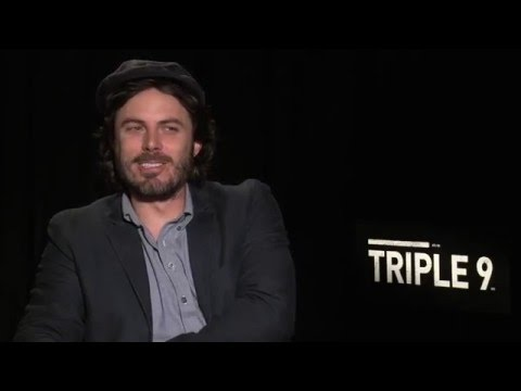 "My Crazy Fun Interview with Casey Affleck for ""Triple 9!""  Dad Bod and Rainbows!"