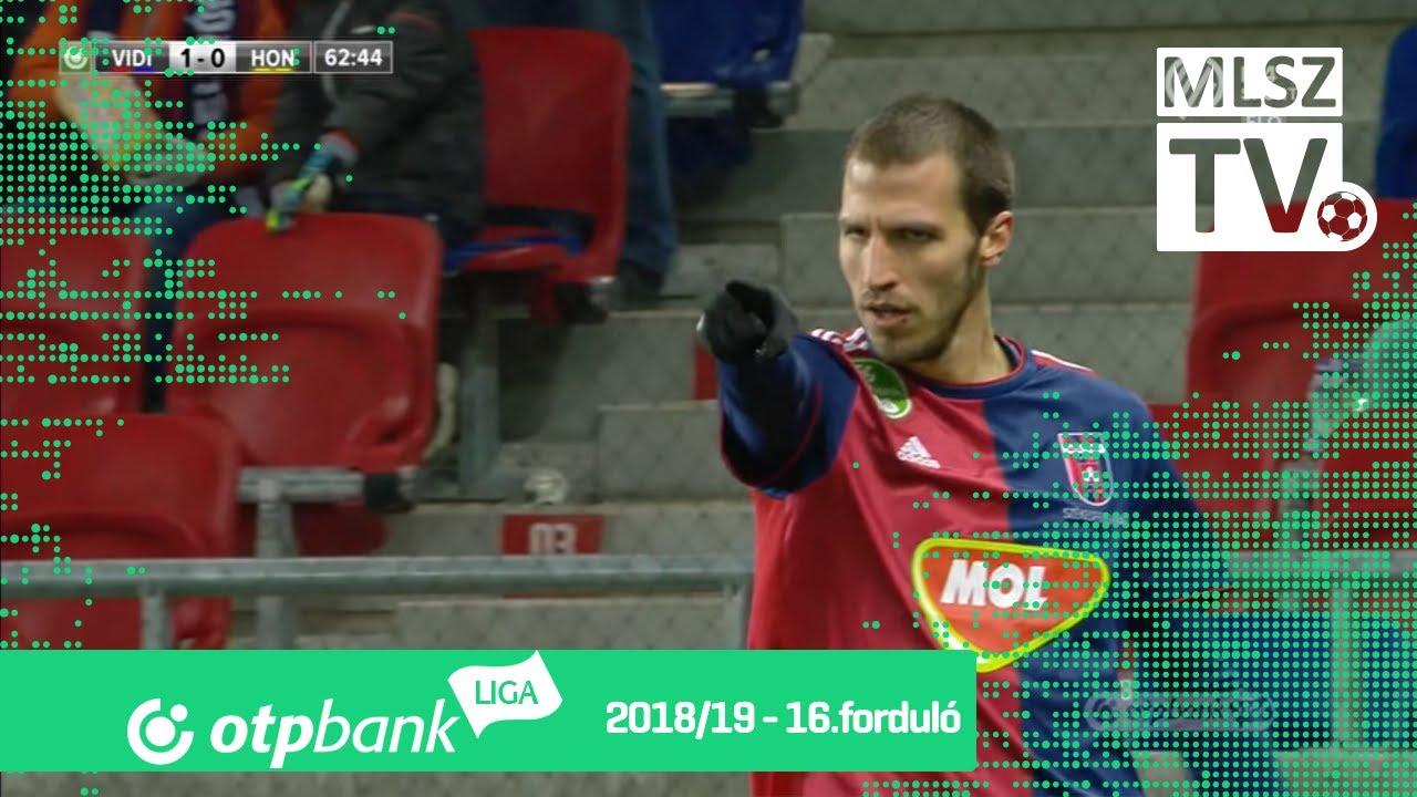 Scepovic Marko gólja a Mol Vidi FC – Budapest Honvéd mérkőzésen