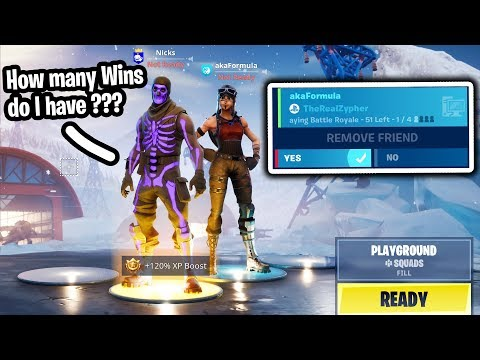 deleting my friends on fortnite if they get this question wr
