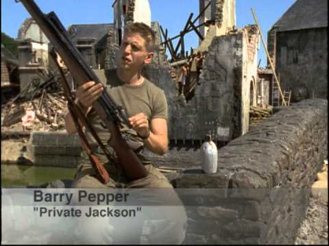 "Saving Private Ryan Behind Scenes Part 4 ""Boot Camp"""