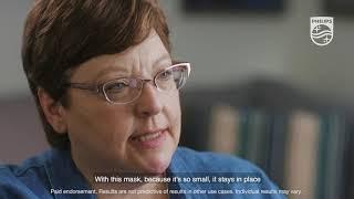 Philips DreamWear Full face mask: Experienced user testimonial - Cheryl