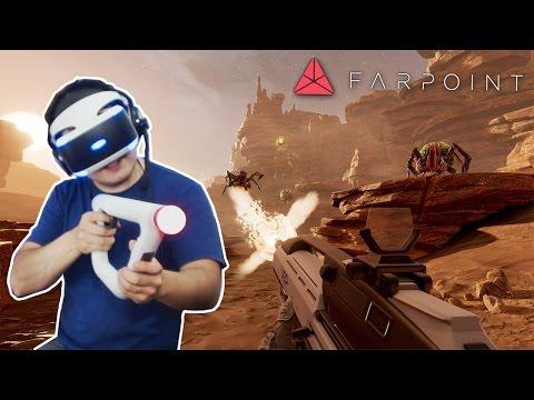 FARPOINT - O INÍCIO COM CONTROLADOR DE MIRA! AIM CONTROLLER (PS VR)