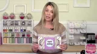 How To Make A Gate Fold Card Using A Sizzix Stand-up Die By Stephanie Barnard