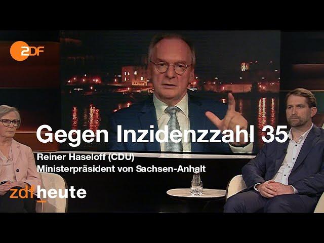 Haseloff (CDU) wettert gegen öffentlich-rechtliche Rundfunkanstalten I Markus Lanz vom 25.02.2021
