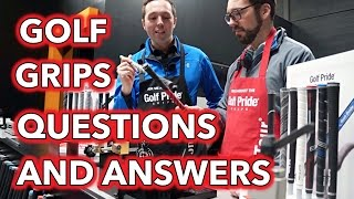 Golf Grips - Questions and Answers