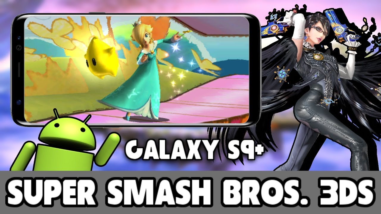 Super smash bros 3ds android apk