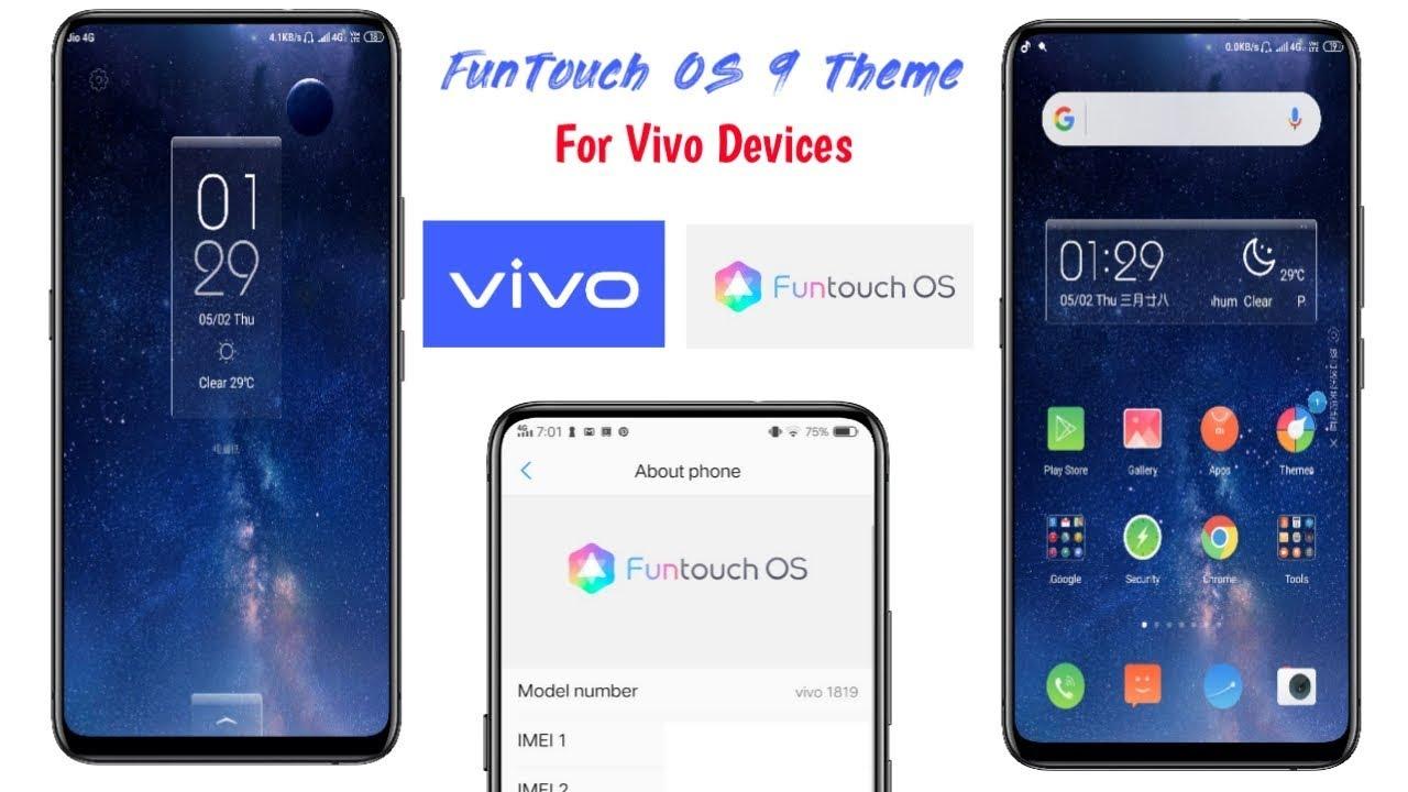 2019 - Vivo FunTouch OS 9 Theme For All Vivo Smartphone