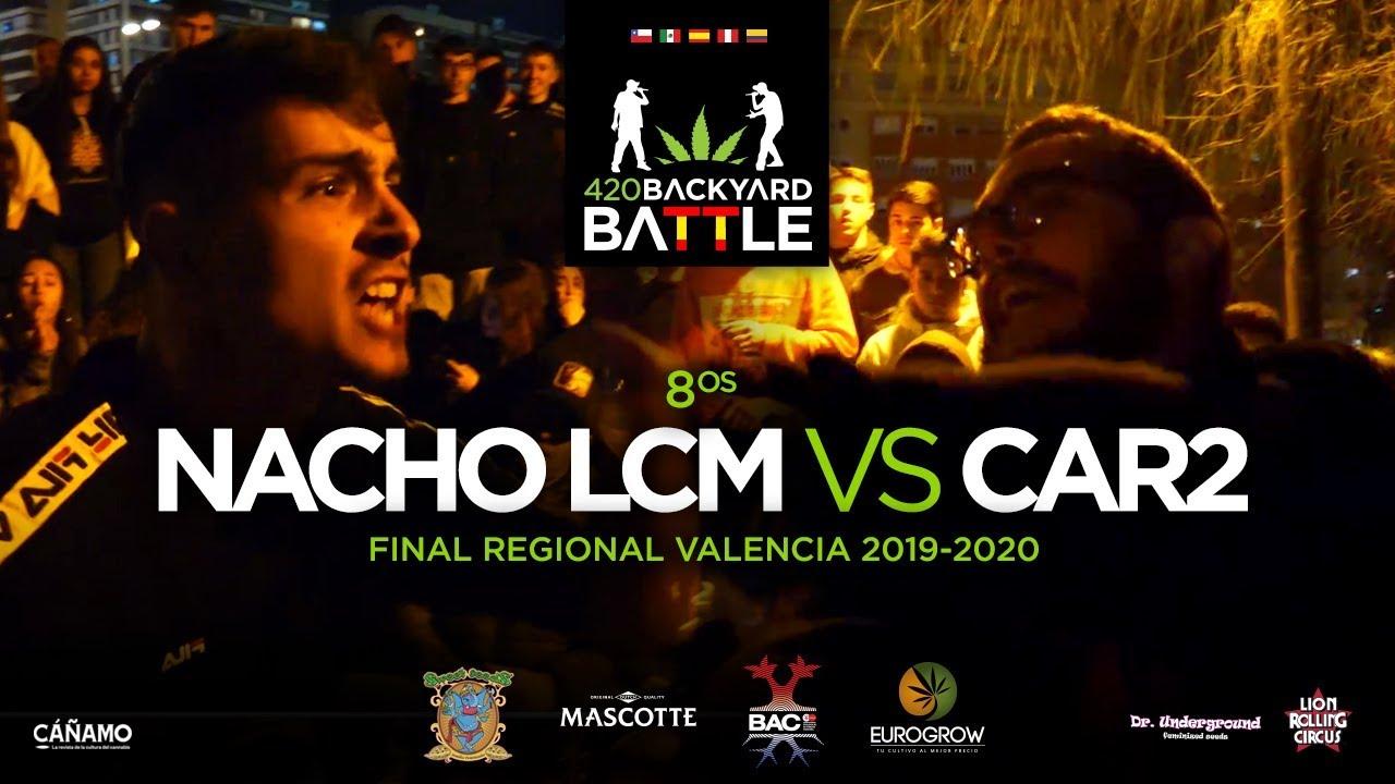 NACHO LCM vs CAR2. 8os. Final Regional Valencia 2020. 420 ...