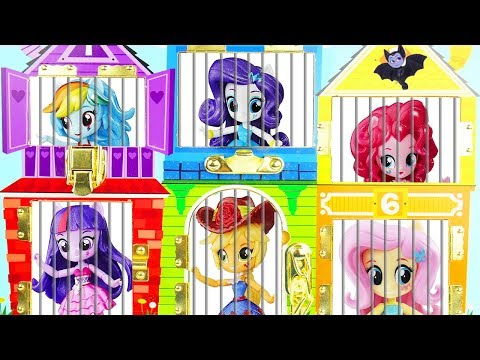 Thumbnail: My Little Pony Jail Rescue Vampirina LOL Surprise Dolls Magical Routine Pets Missing Sister Party!
