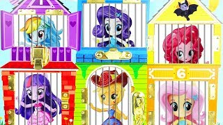 My Little Pony Jail Rescue Vampirina LOL Surprise Dolls Magical Routine Pets Missing Sister Party!