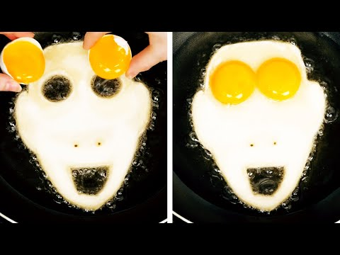 FUN AND EASY COOKING IDEAS || 25 COOL KITCHEN LIFE HACKS