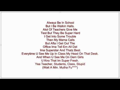 soulja boy- just got my report card lyrics