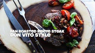 Bone-In Ribeye Steak Recipe Don Vito Style