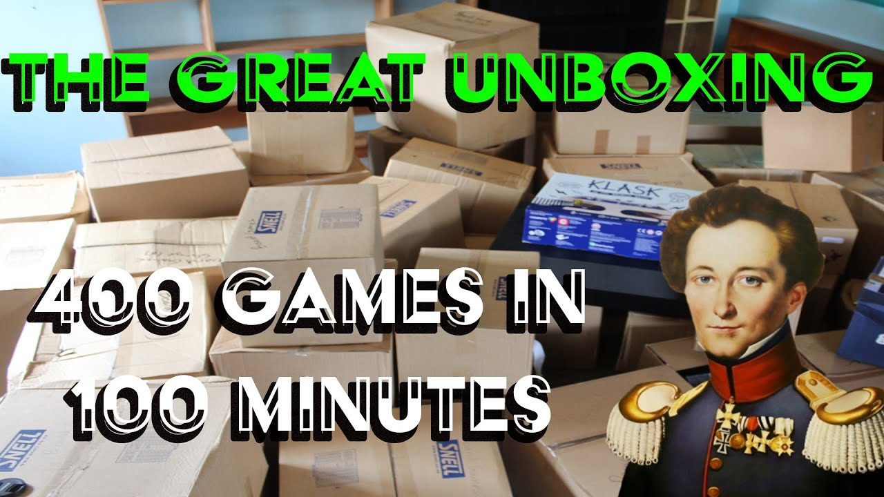 Download The Great unboxing - 400 games!