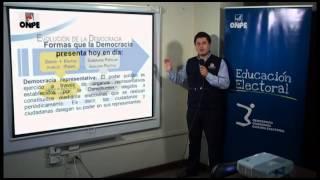 parte 1de2 DEMOCRACIA COMO FORMA DE GOBIERNO