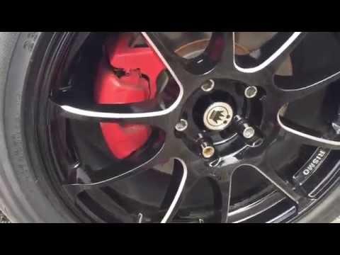 4g Mitsubishi Eclipse Konig Wheels Illusion Gloss Black with Milling