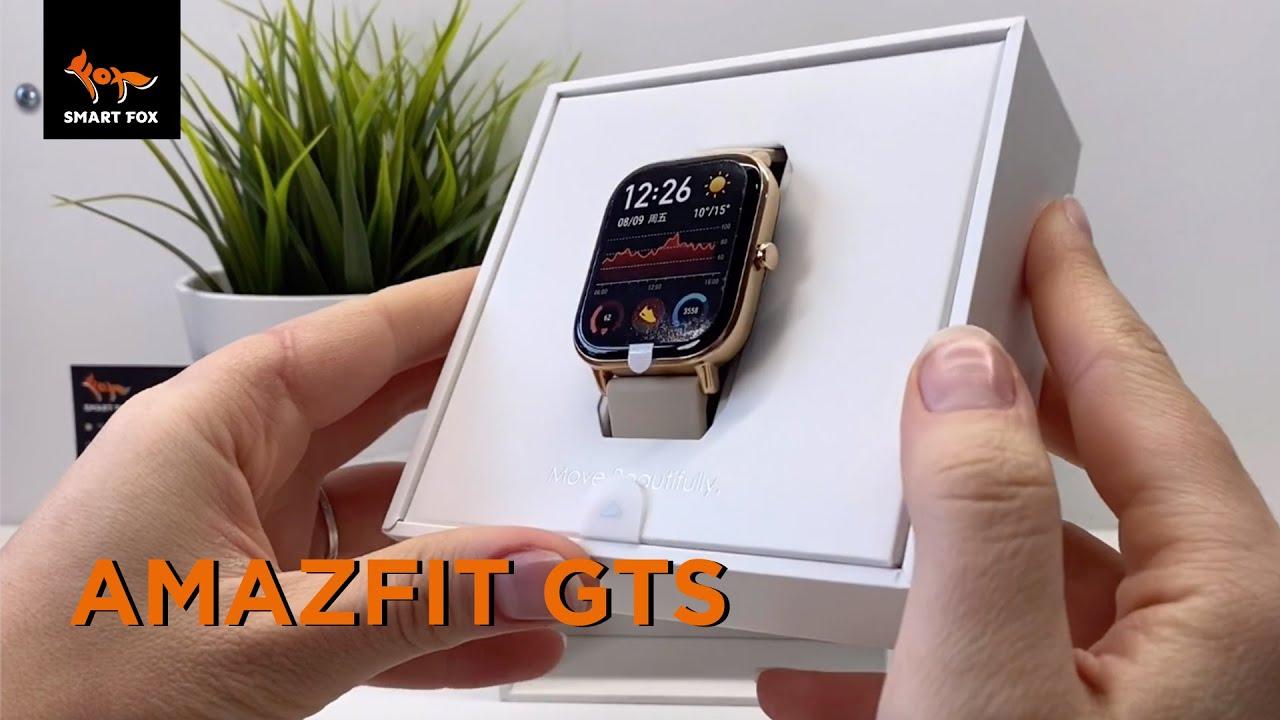 Смарт-часы Xiaomi Amazfit GTS: Быстрая распаковка