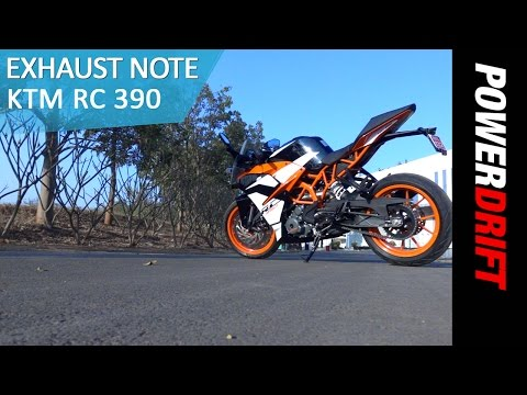 2017 KTM RC 390 : Exhaust Note : PowerDrift