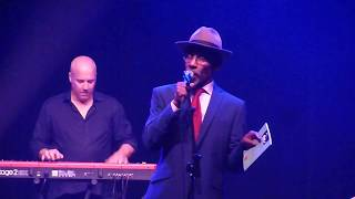 Linton Kwesi Johnson Di Anfinish Revalueshan Live @ Theatre Nationale Bruxelles 28-10-2017
